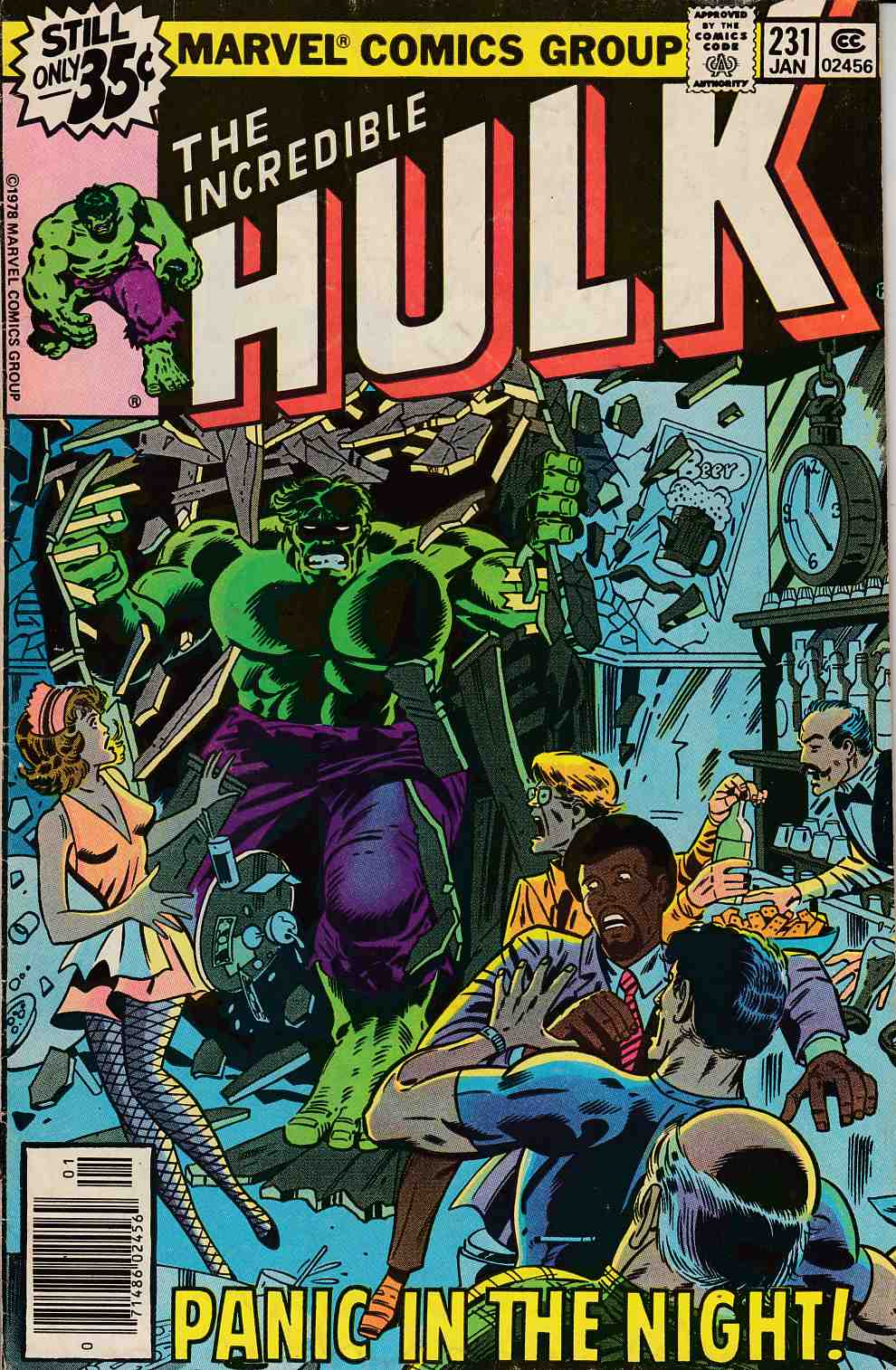 Incredible Hulk #231 Very Good (4.0) [Marvel Comic] THUMBNAIL