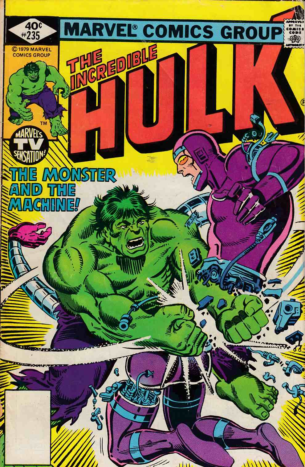 Incredible Hulk #235 Whitman Variant Good (2.0) [Marvel Comic] THUMBNAIL