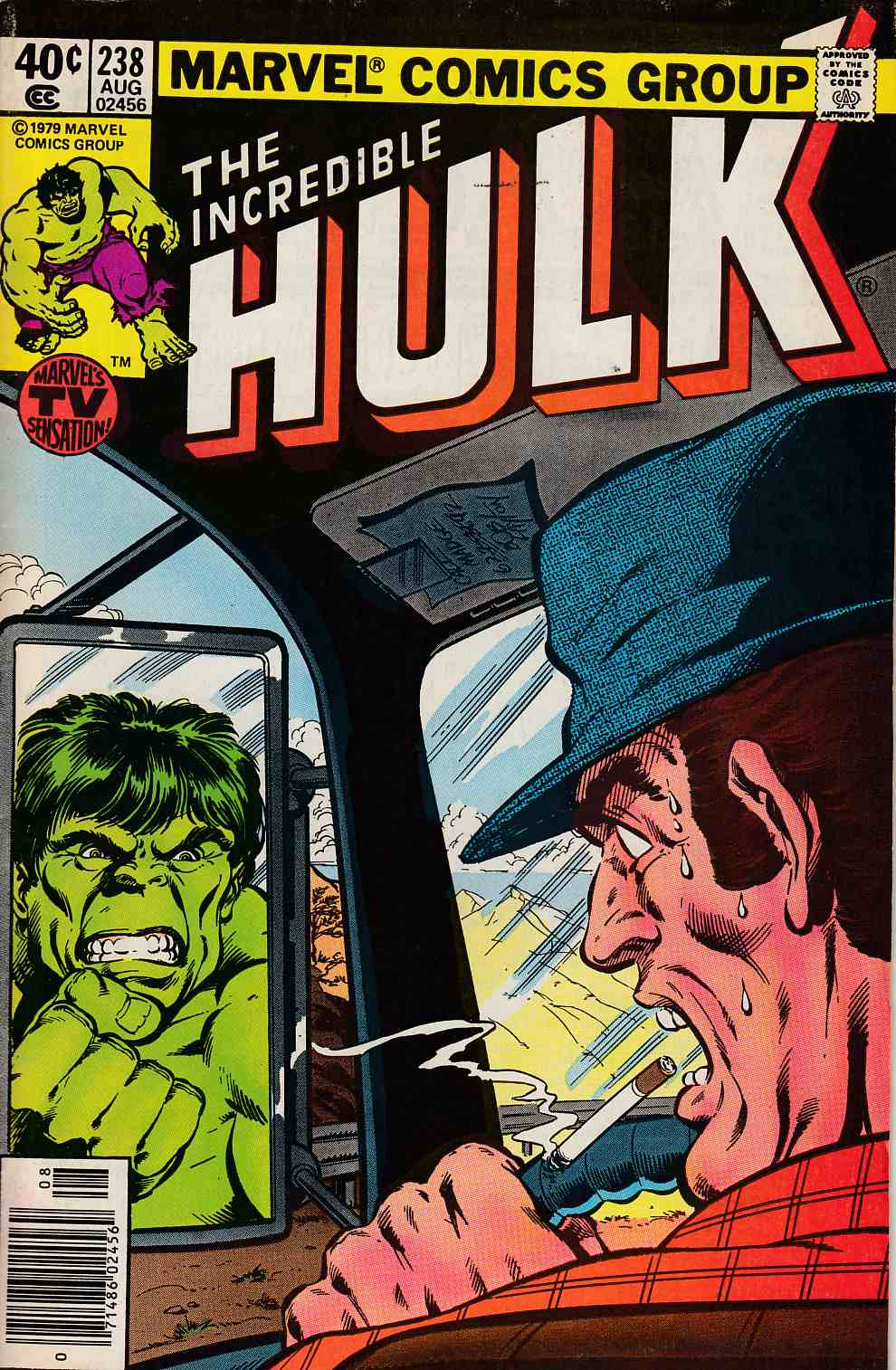 Incredible Hulk #238 Newsstand Edition Fine Minus (5.5) [Marvel Comic] THUMBNAIL