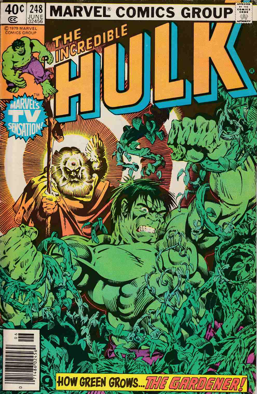 Incredible Hulk #248 Newsstand Edition Fine (6.0) [Marvel Comic] LARGE
