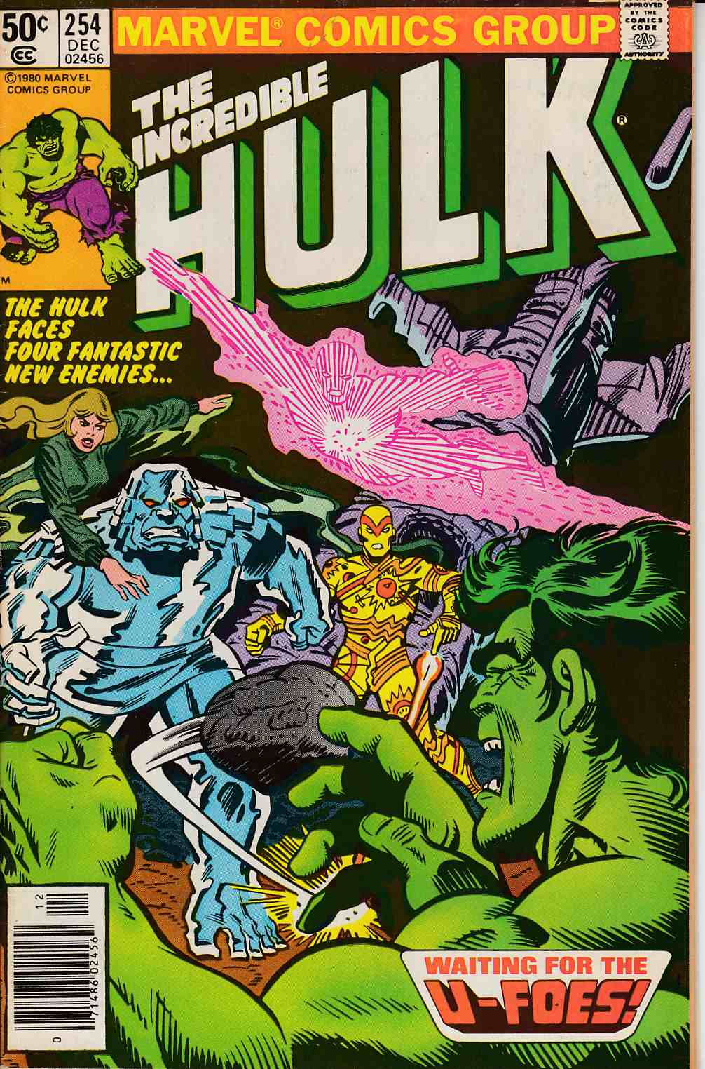 Incredible Hulk #254 Newsstand Edition Very Fine (8.0) [Marvel Comic] LARGE