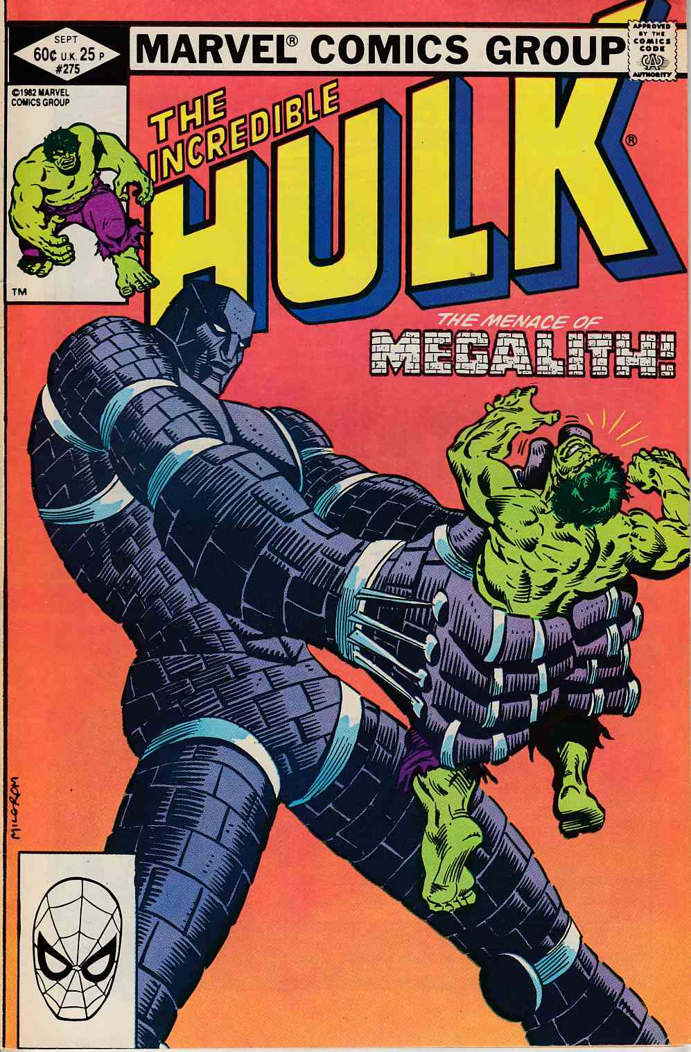 Incredible Hulk #275 Fine (6.0) [Marvel Comic] LARGE