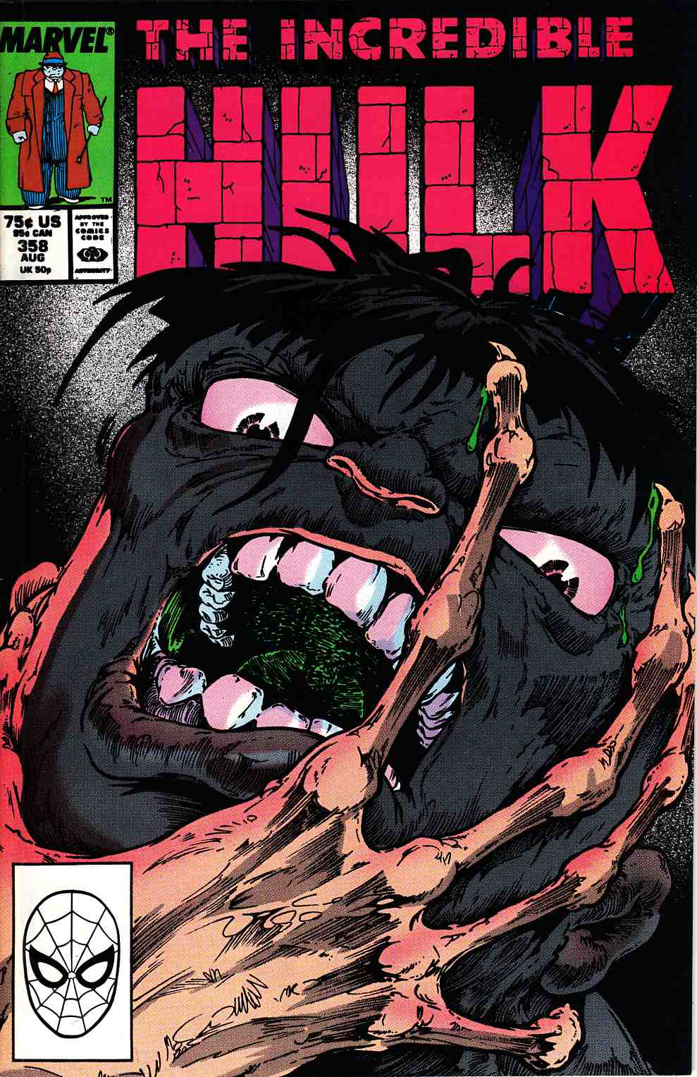 Incredible Hulk #358 Very Fine (8.0) [Marvel Comic] LARGE