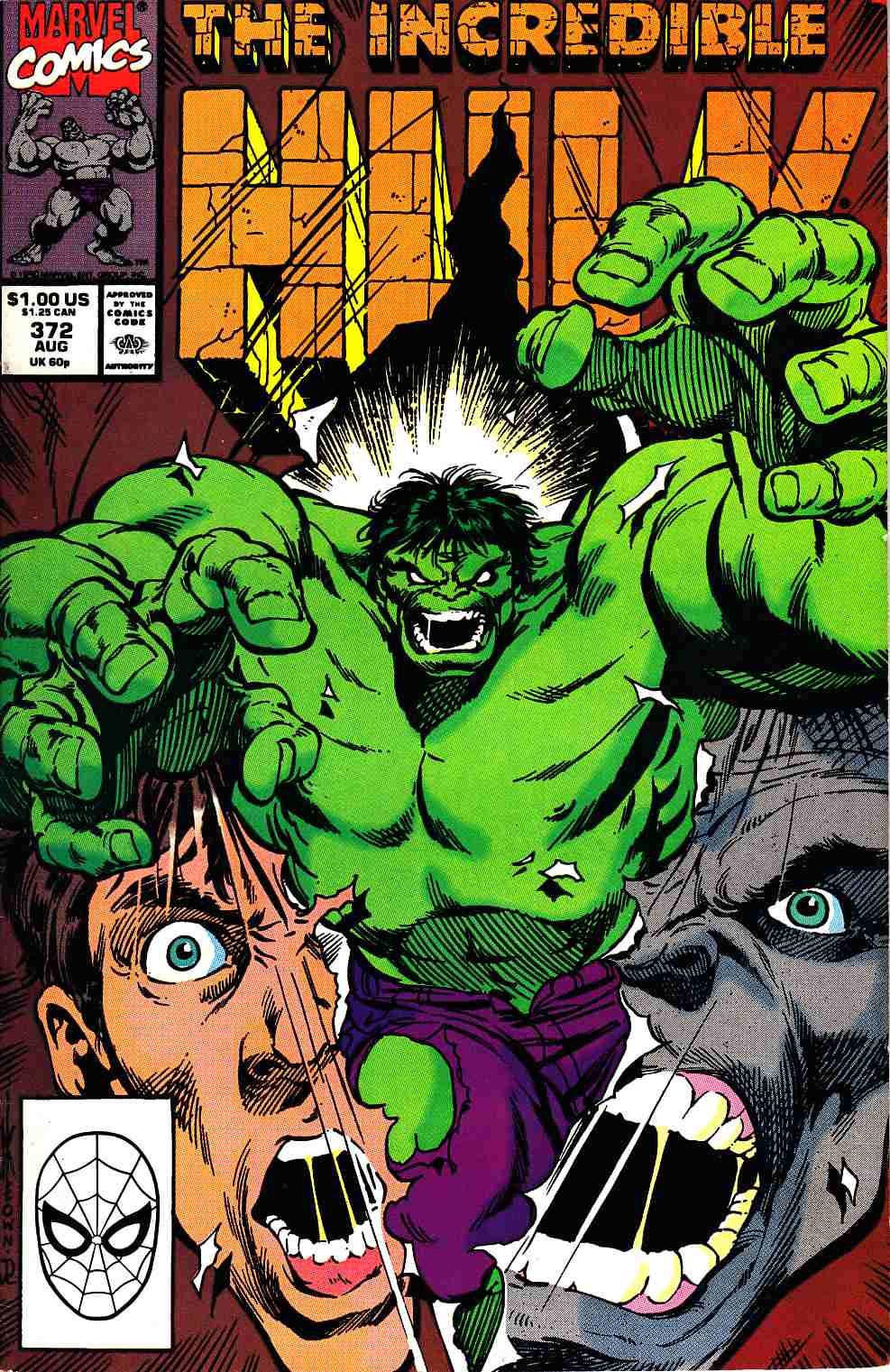 Incredible Hulk #372 [Marvel Comic]