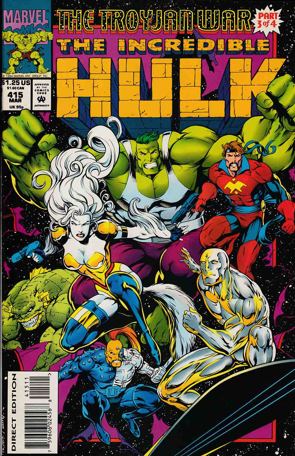 Incredible Hulk #415 Near Mint (9.4) [Marvel Comic] LARGE