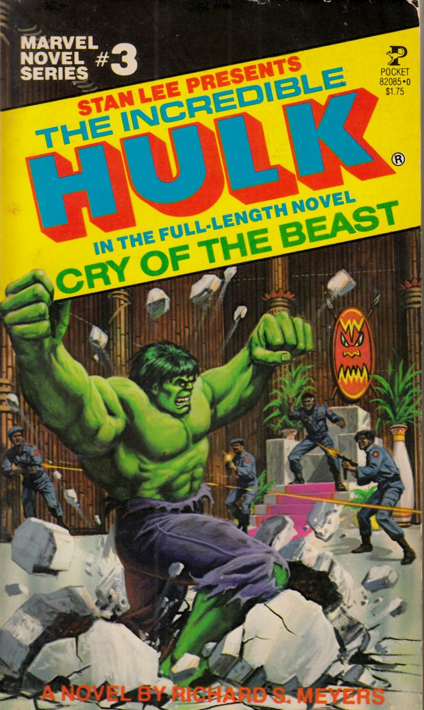 Incredible Hulk Cry of the Beast Novel PB Very Good (4.0) [Marvel Softcover] THUMBNAIL