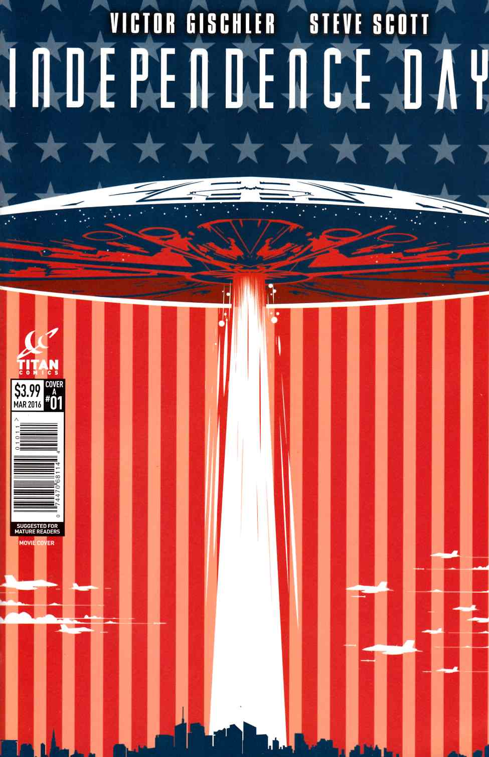 Independence Day #1 Cover A [Titan Comic] THUMBNAIL