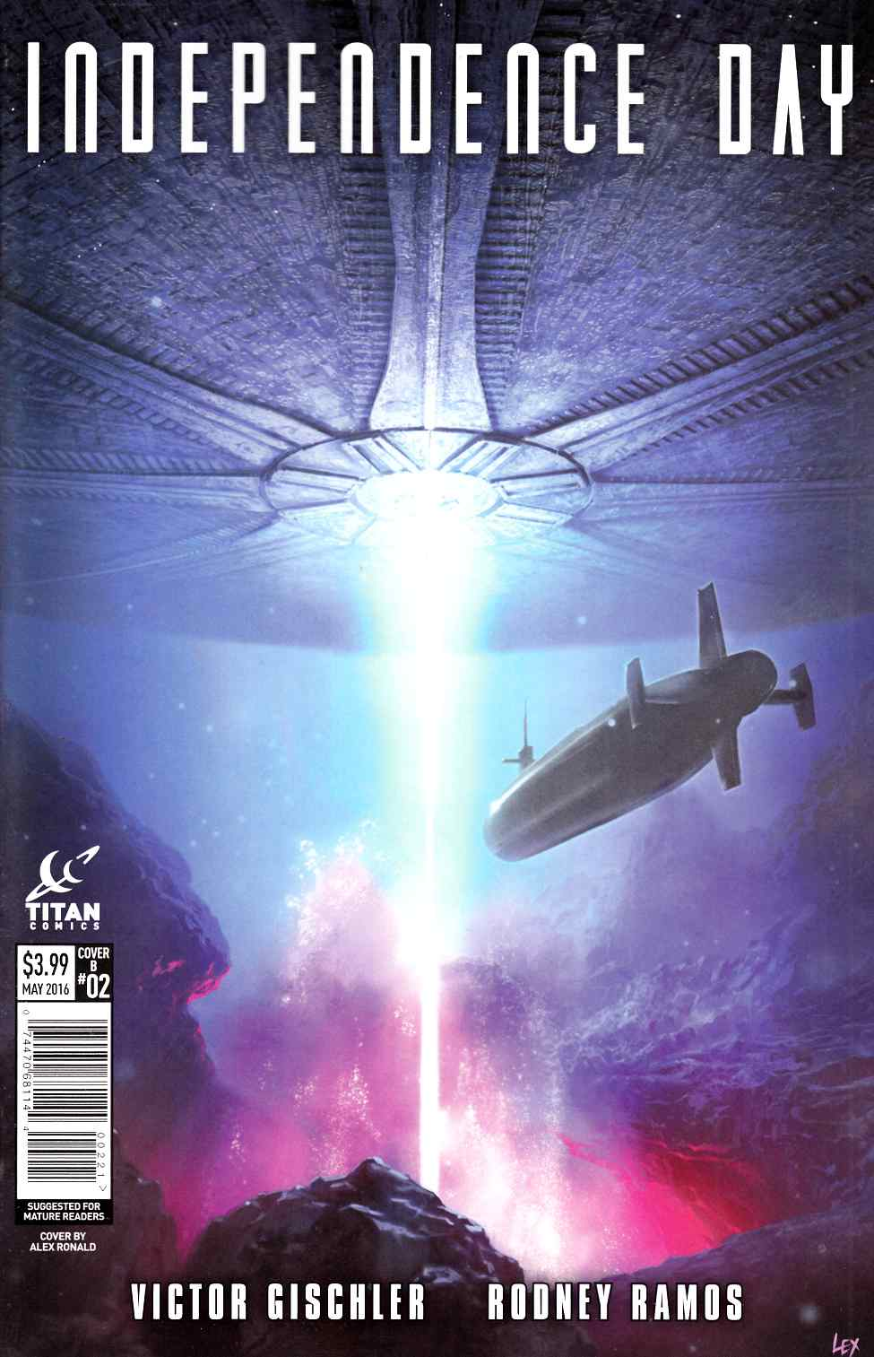 Independence Day #2 Cover B [Titan Comic] THUMBNAIL