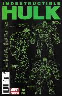 Indestructible Hulk #1 Design Incentive Cover [Comic] THUMBNAIL