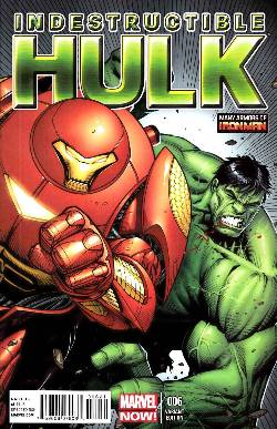 Indestructible Hulk #6 Iron Man Many Armors Incentive Cover [Comic]