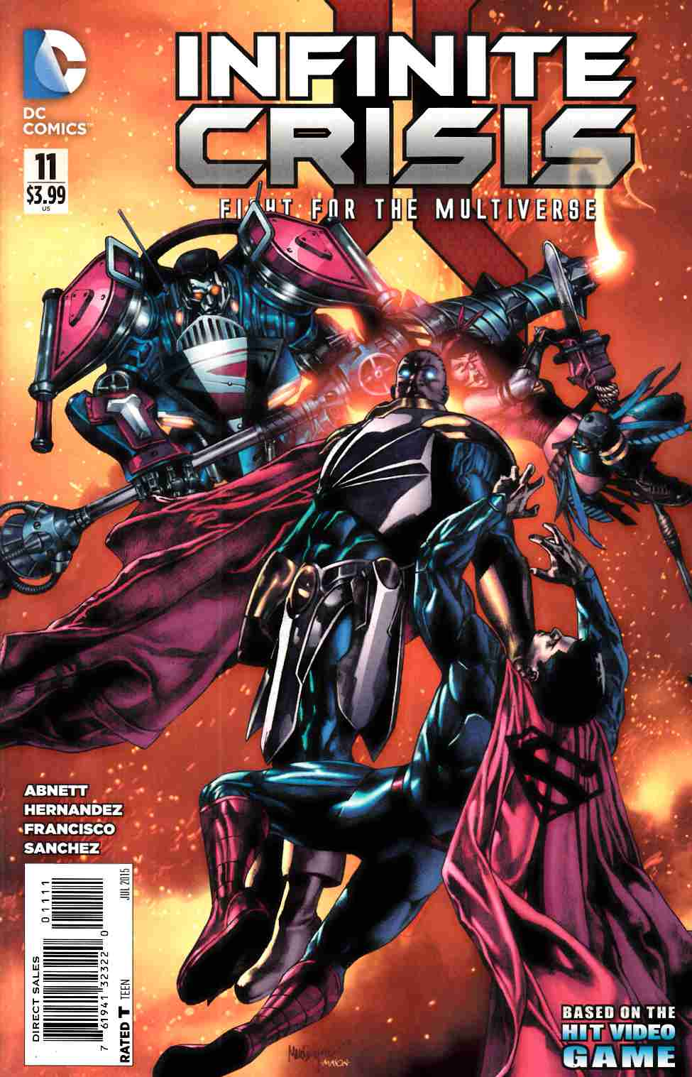 Infinite Crisis Fight For The Multiverse #11 [DC Comic]_THUMBNAIL