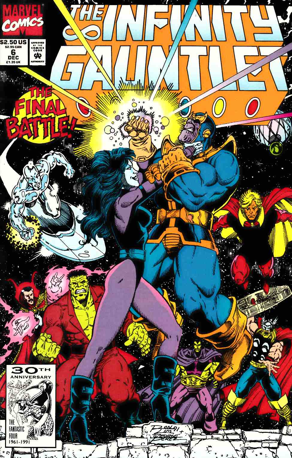Infinity Gauntlet #6 [Marvel Comic]