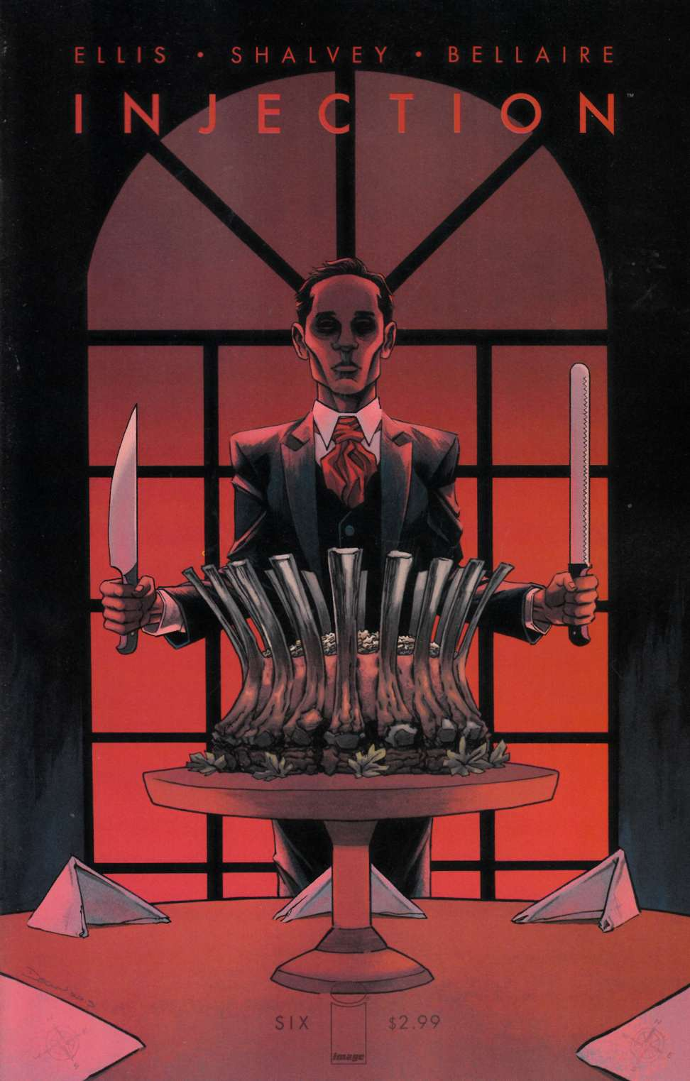Injection #6 Cover A [Image Comic] THUMBNAIL
