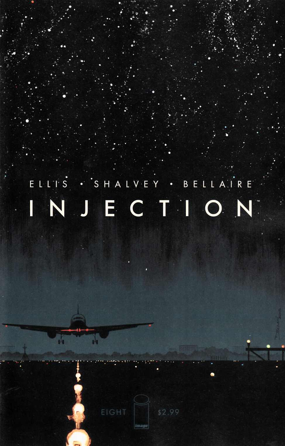 Injection #8 Cover A [Image Comic] THUMBNAIL