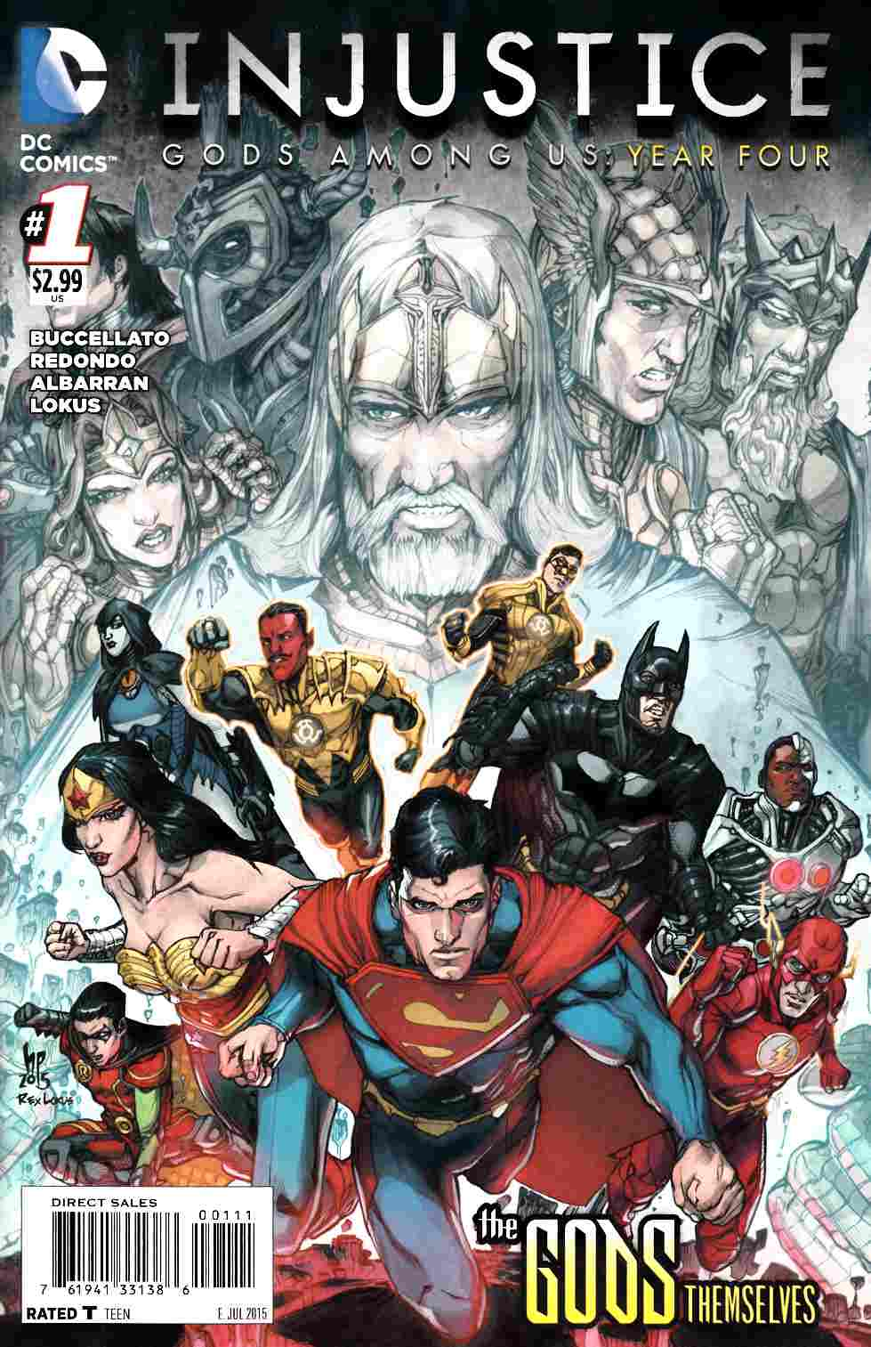 Injustice Gods Among Us Year Four #1 [DC Comic] THUMBNAIL