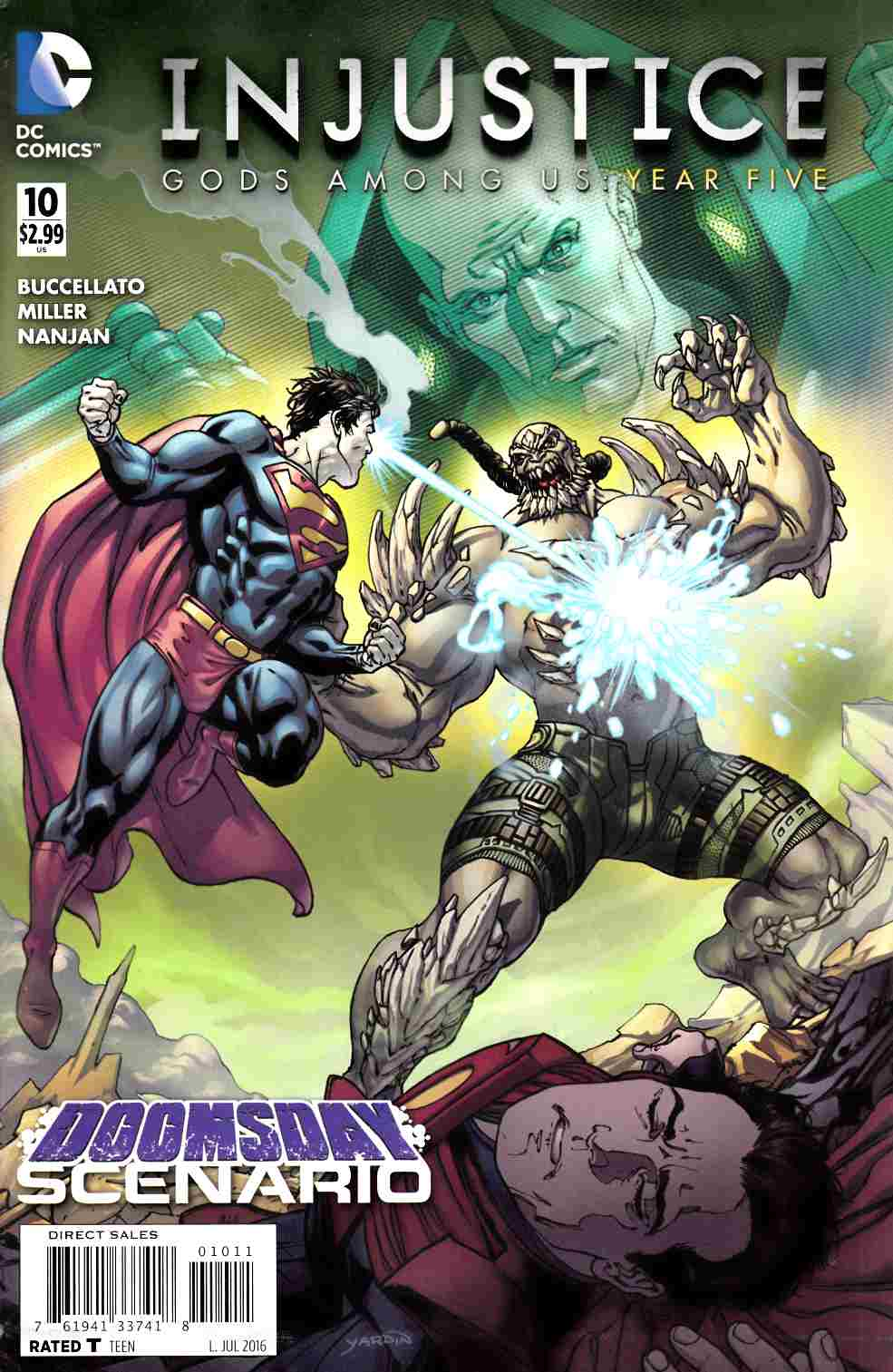 Injustice Gods Among Us Year Five #10 [DC Comic] LARGE