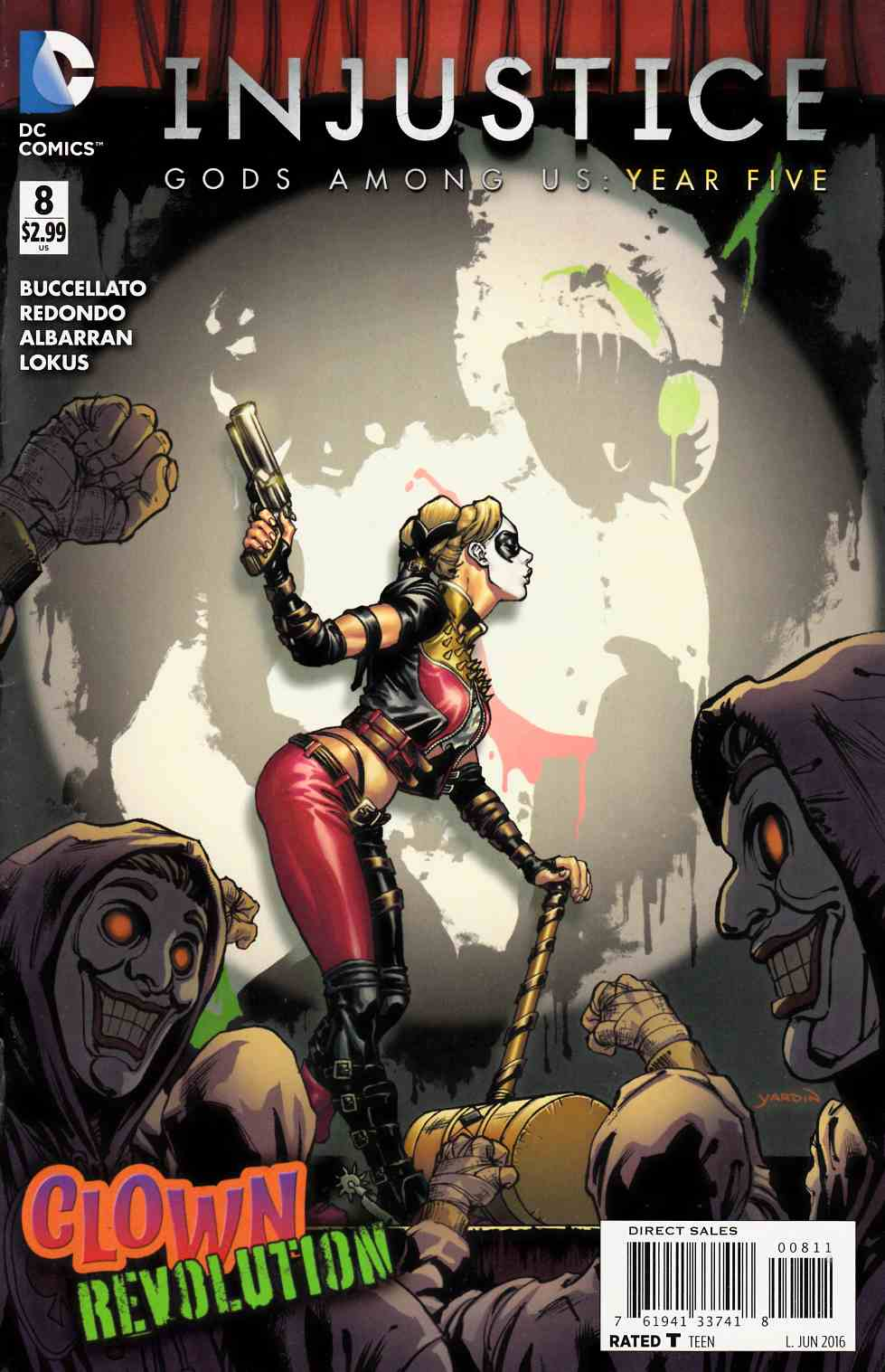 Injustice Gods Among Us Year Five #8 [DC Comic] THUMBNAIL