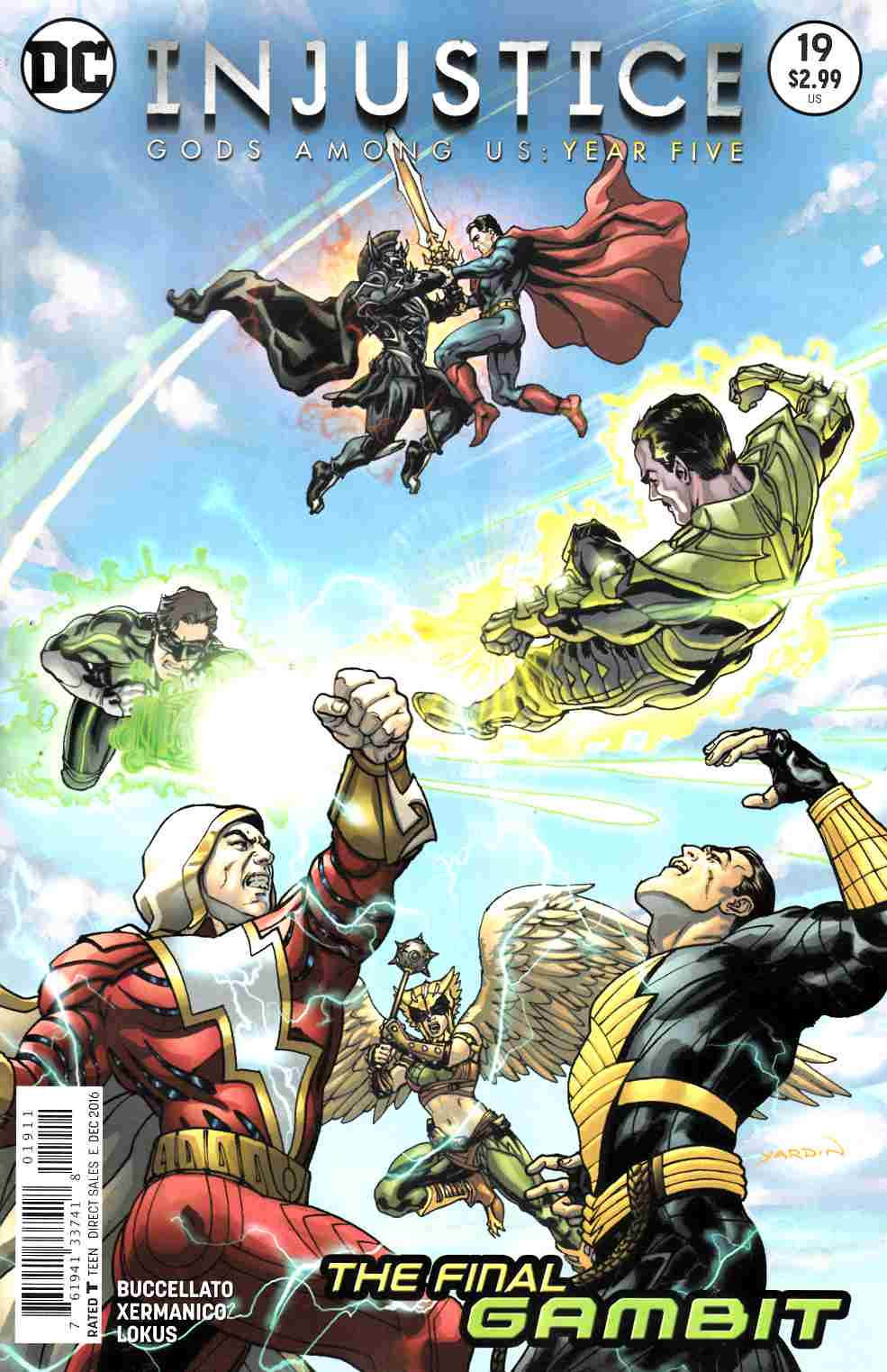 Injustice Gods Among Us Year Five #19 [DC Comic] THUMBNAIL