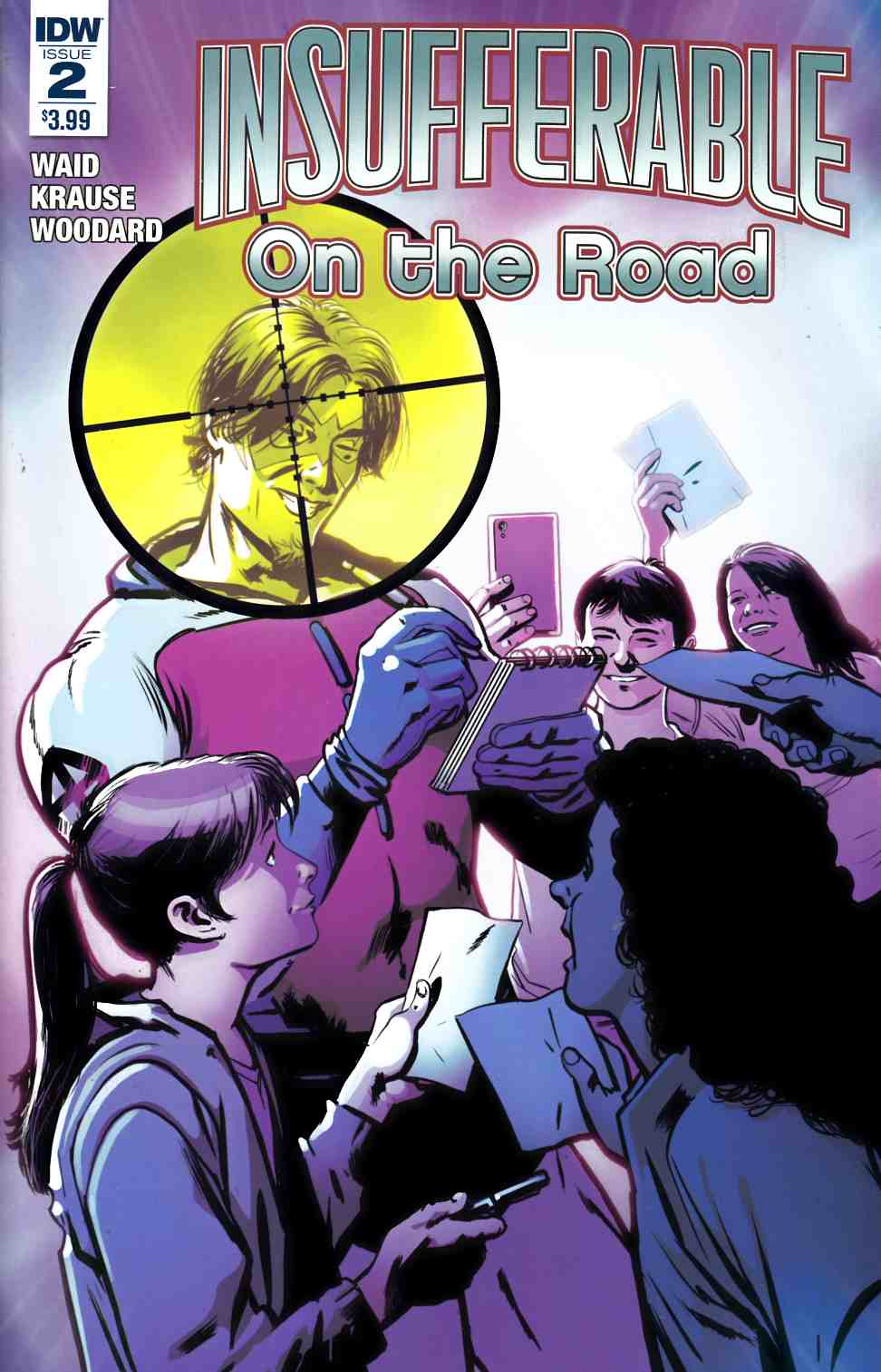 Insufferable on the Road #2 [IDW Comic]