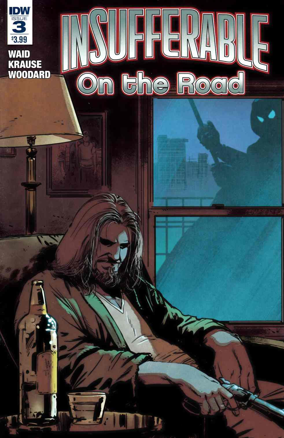 Insufferable On the Road #3 [IDW Comic]