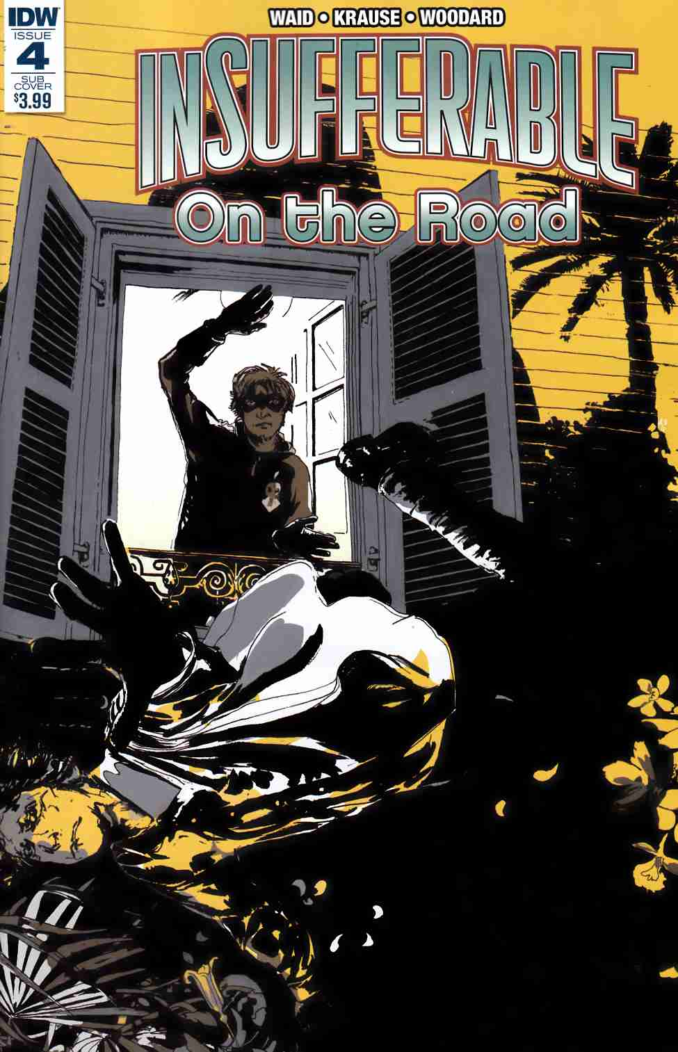 Insufferable On the Road #4 Subscription Cover [IDW Comic]