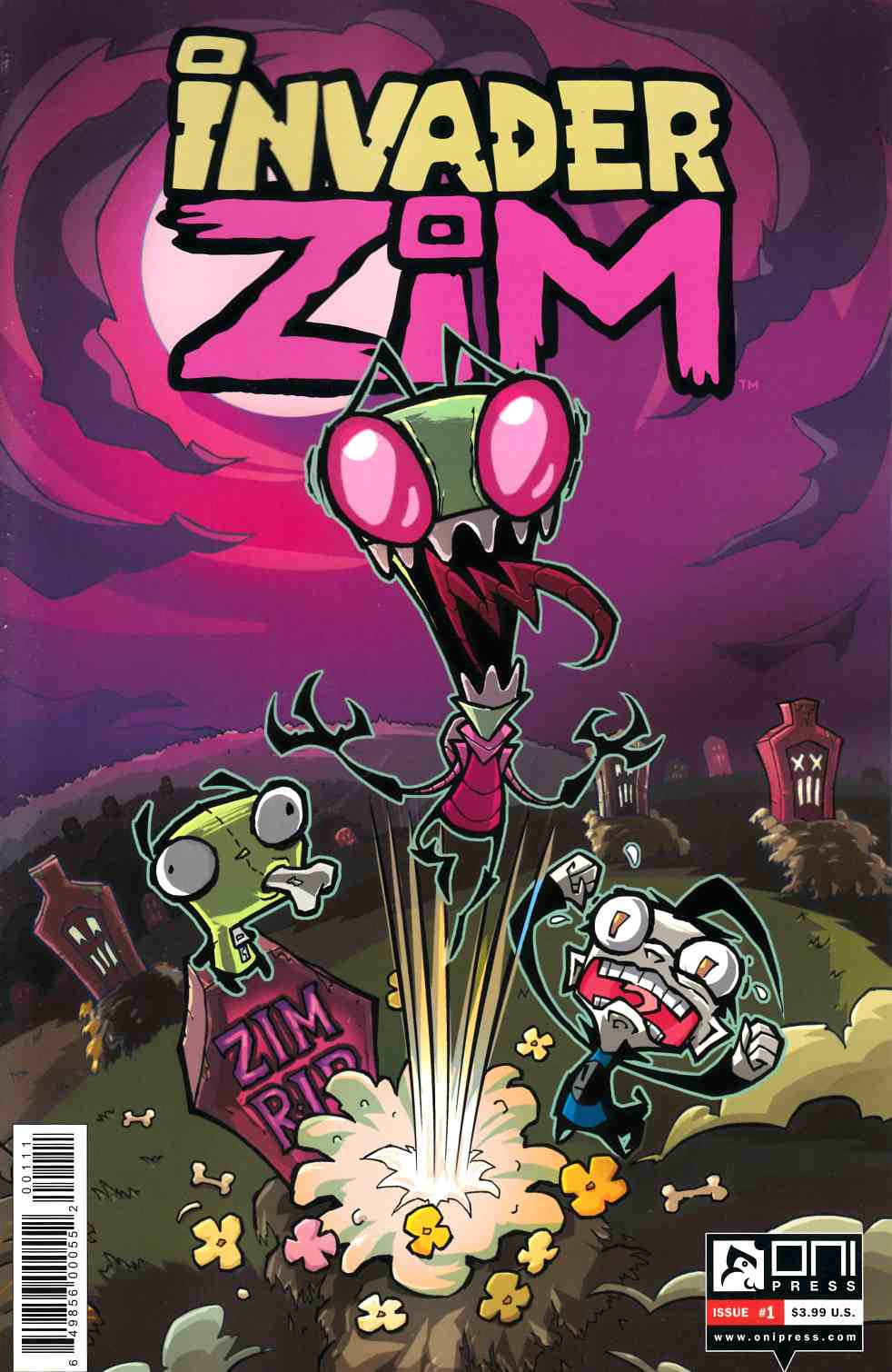 Invader Zim #1 [Oni Press Comic] THUMBNAIL