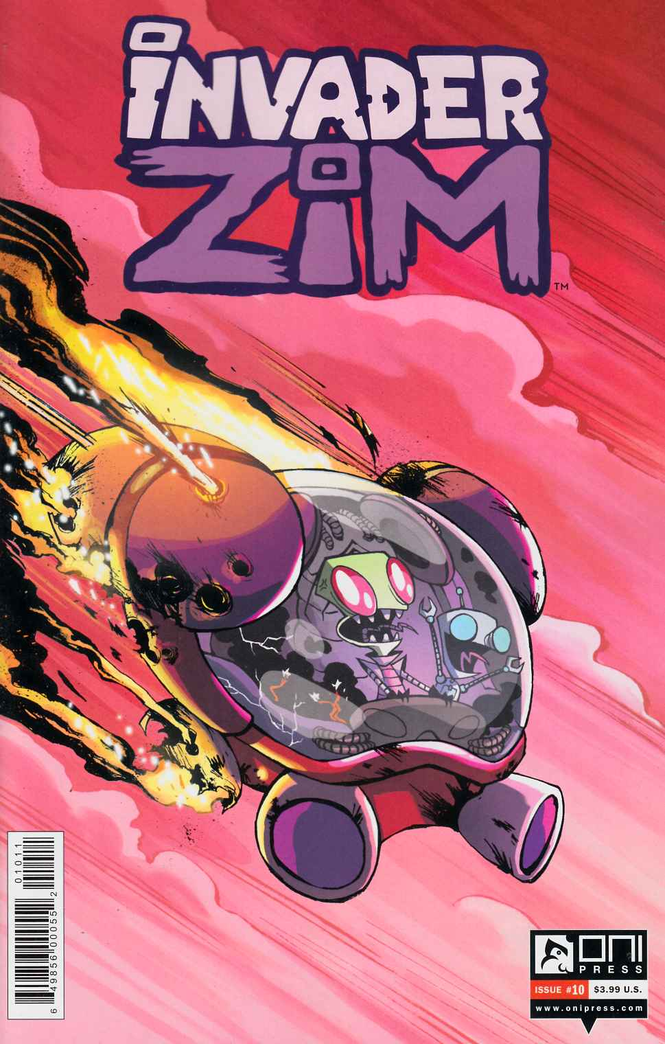 Invader Zim #10 Very Fine (8.0) [Oni Press Comic] THUMBNAIL