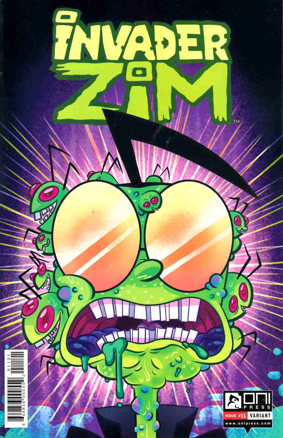Invader Zim #11 Mady G Variant Cover [Oni Press Comic] THUMBNAIL