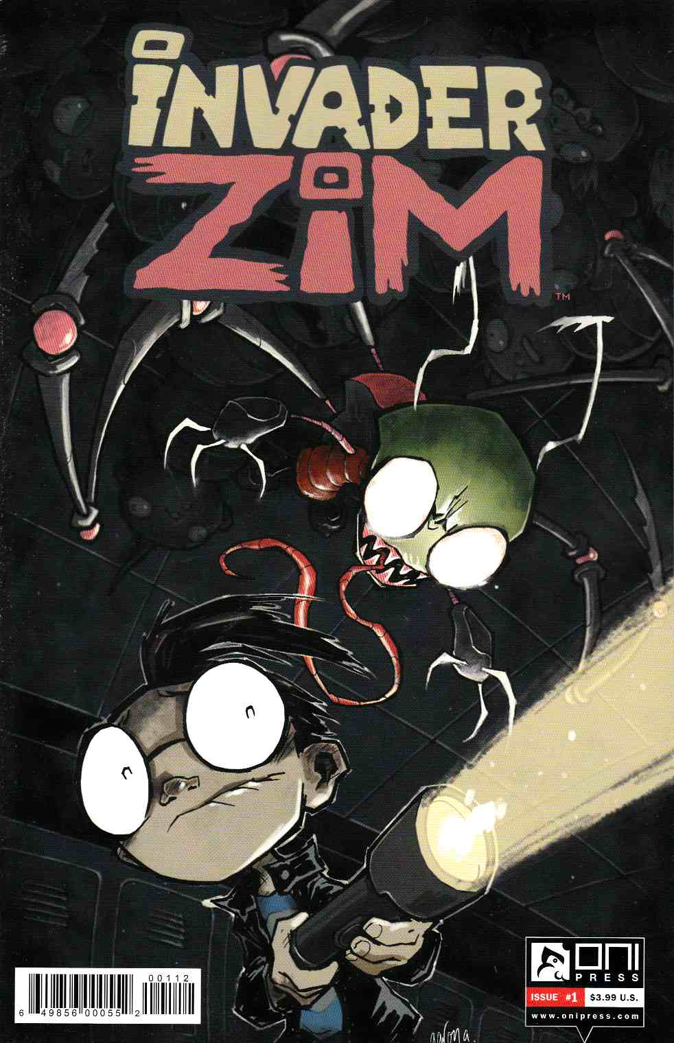 Invader Zim #1 Second Printing [Oni Press Comic] THUMBNAIL