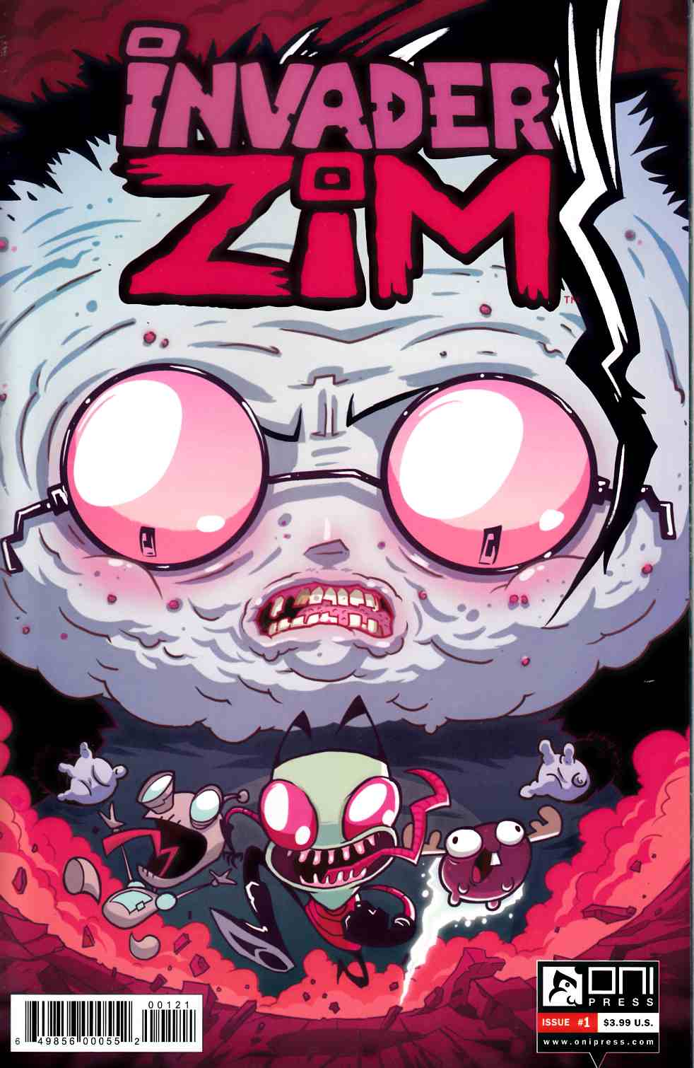 Invader Zim #1 Vasquez Incentive Cover [Oni Press Comic] THUMBNAIL