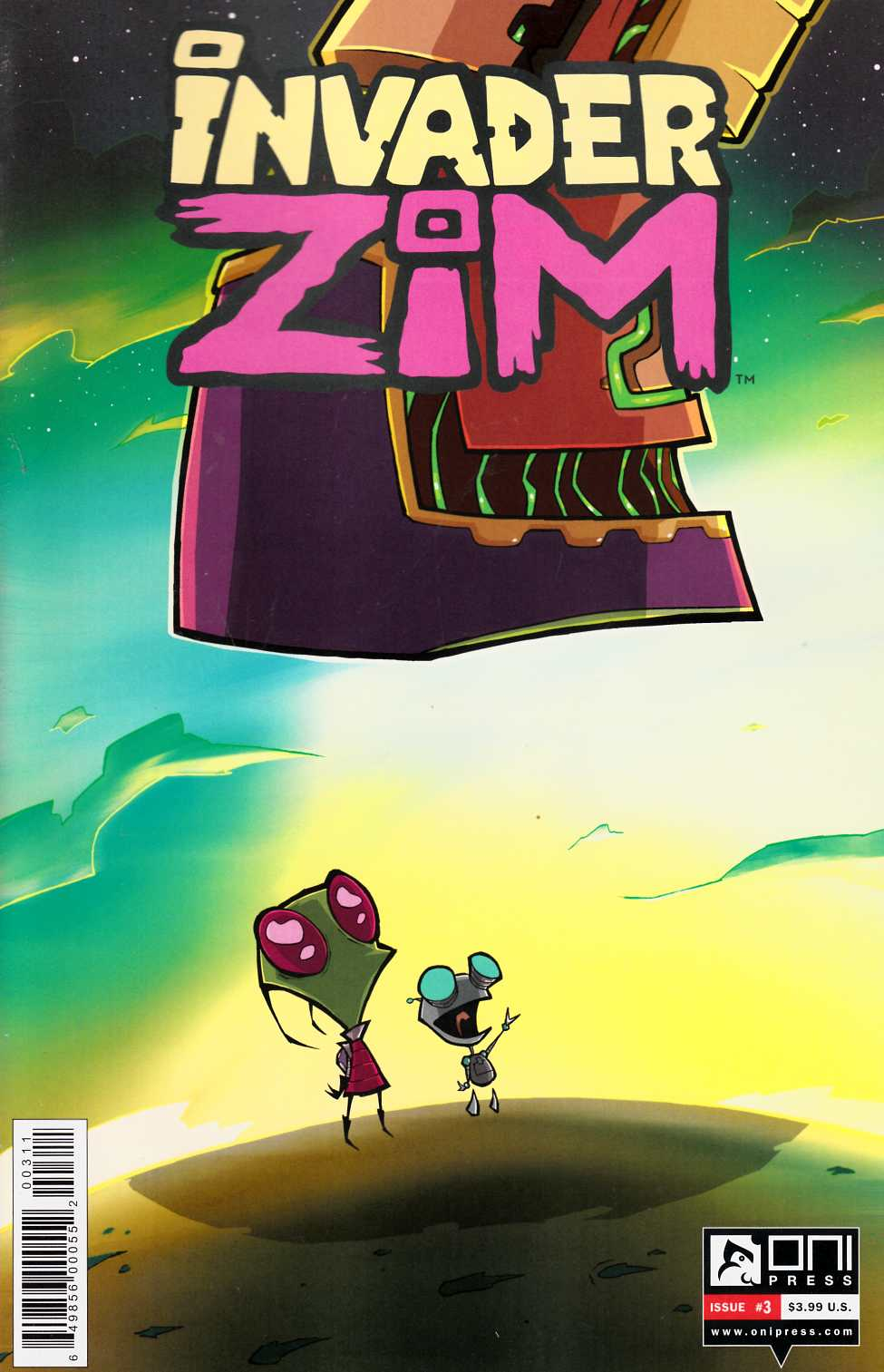 Invader Zim #3 [Oni Press Comic] THUMBNAIL