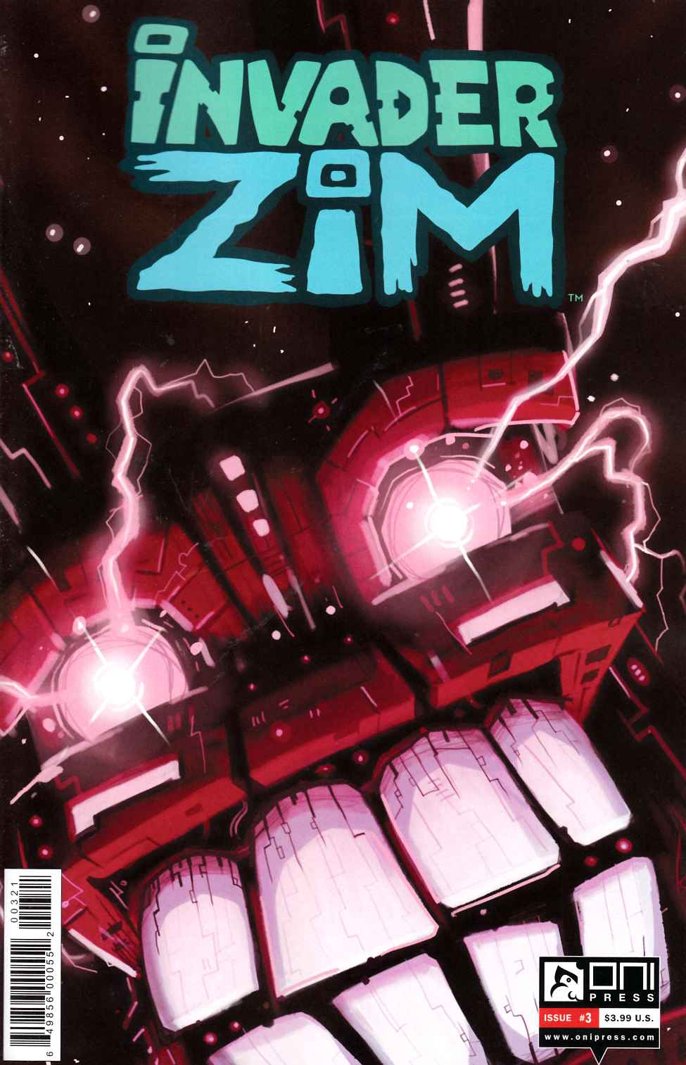 Invader Zim #3 Vasquez Incentive Cover [Oni Press Comic] THUMBNAIL