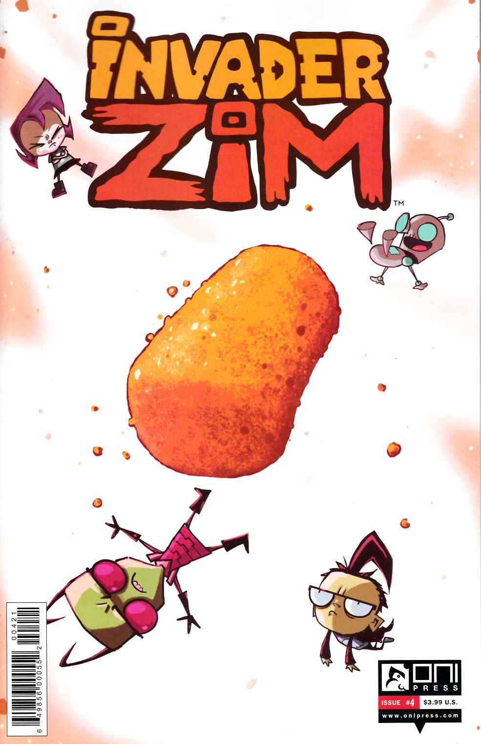 Invader Zim #4 Vasquez Incentive Cover [Oni Comic] THUMBNAIL