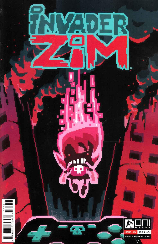 Invader Zim #5 Vasquez Variant Cover [Oni Comic ...