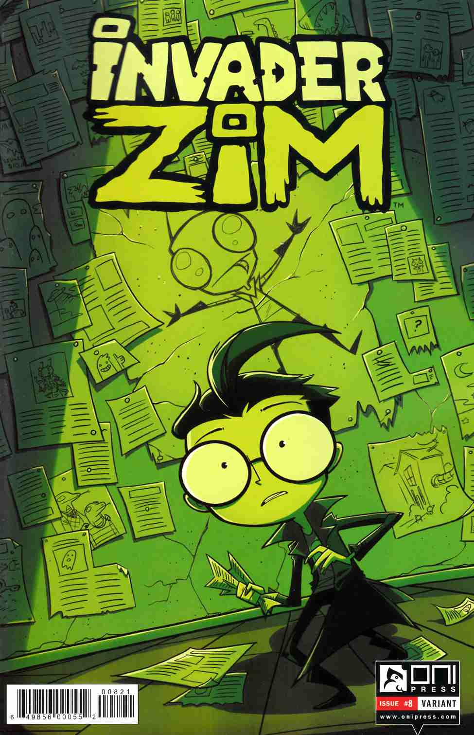 Invader Zim #8 Lawton Variant Cover [Oni Press Comic] THUMBNAIL