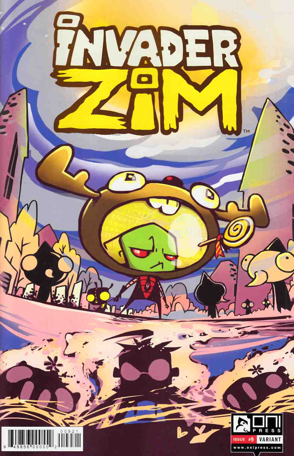 Invader Zim #9 Variant Cover [Oni Press Comic] THUMBNAIL
