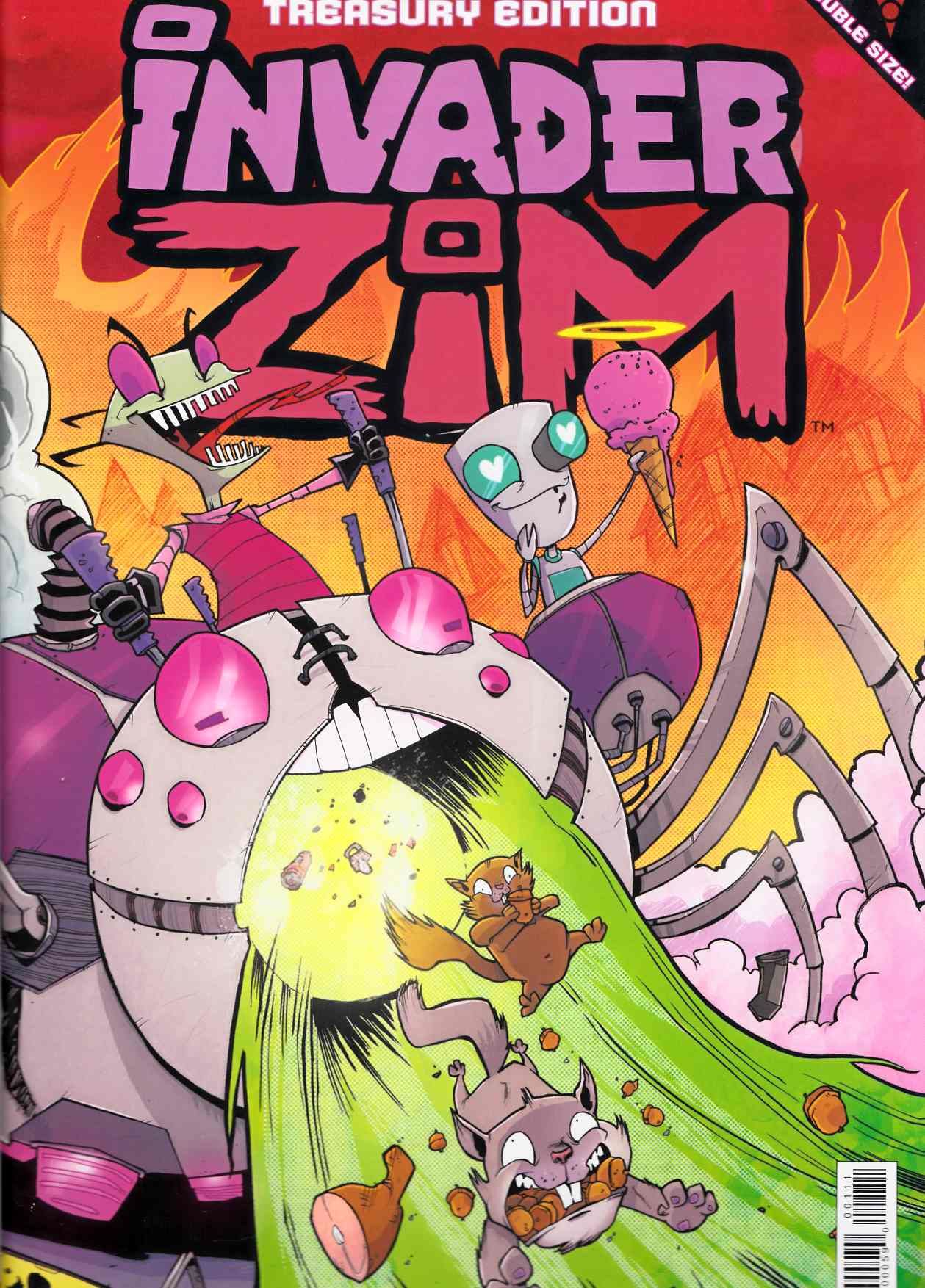 Invader Zim Treasury Edition LCSD 2015 Edition [Oni Press Comic] THUMBNAIL