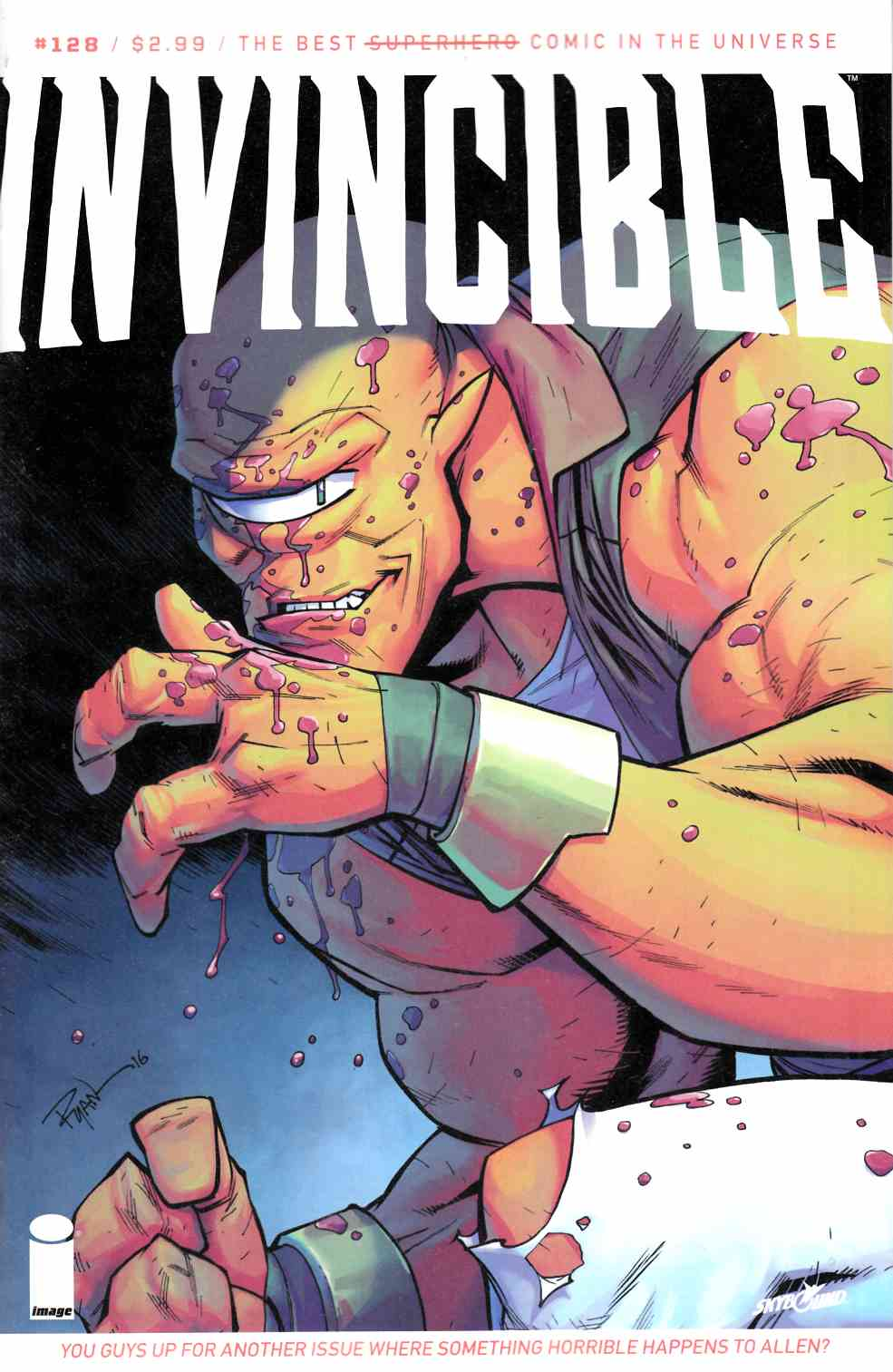 Invincible #128 [Image Comic] LARGE