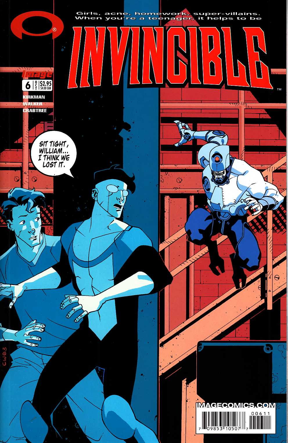 Invincible #6 [Image Comic] LARGE