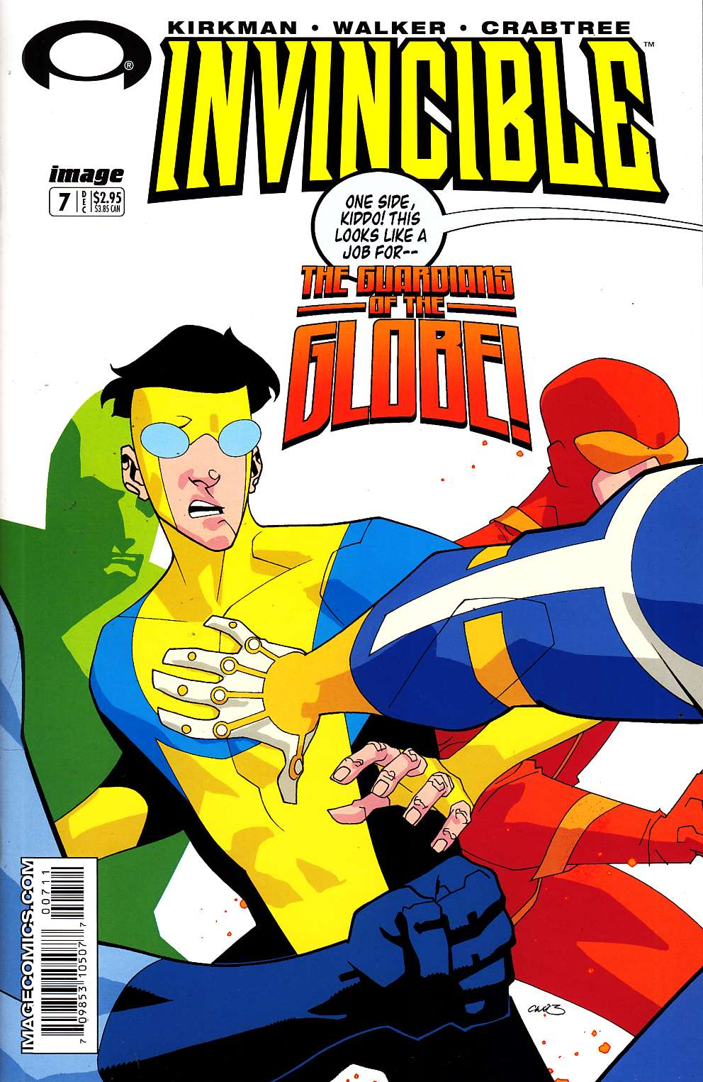 Invincible #7 Near Mint (9.4) [Image Comic] LARGE