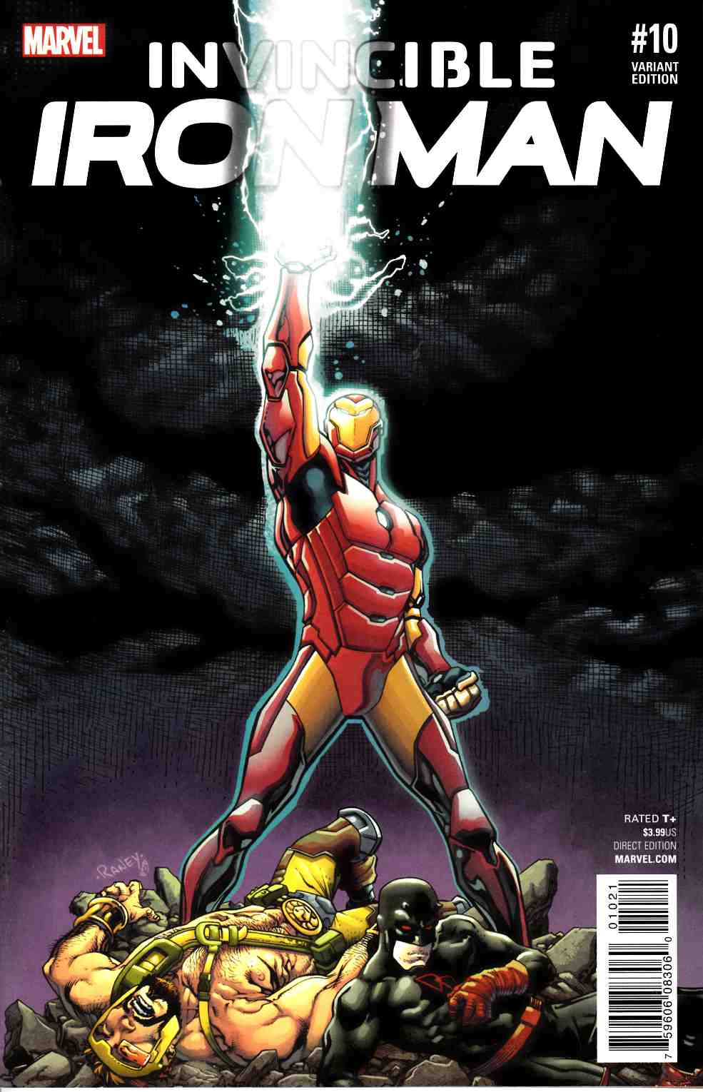 Invincible Iron Man #10 CW Reenactment Variant Cover [Marvel Comic] LARGE