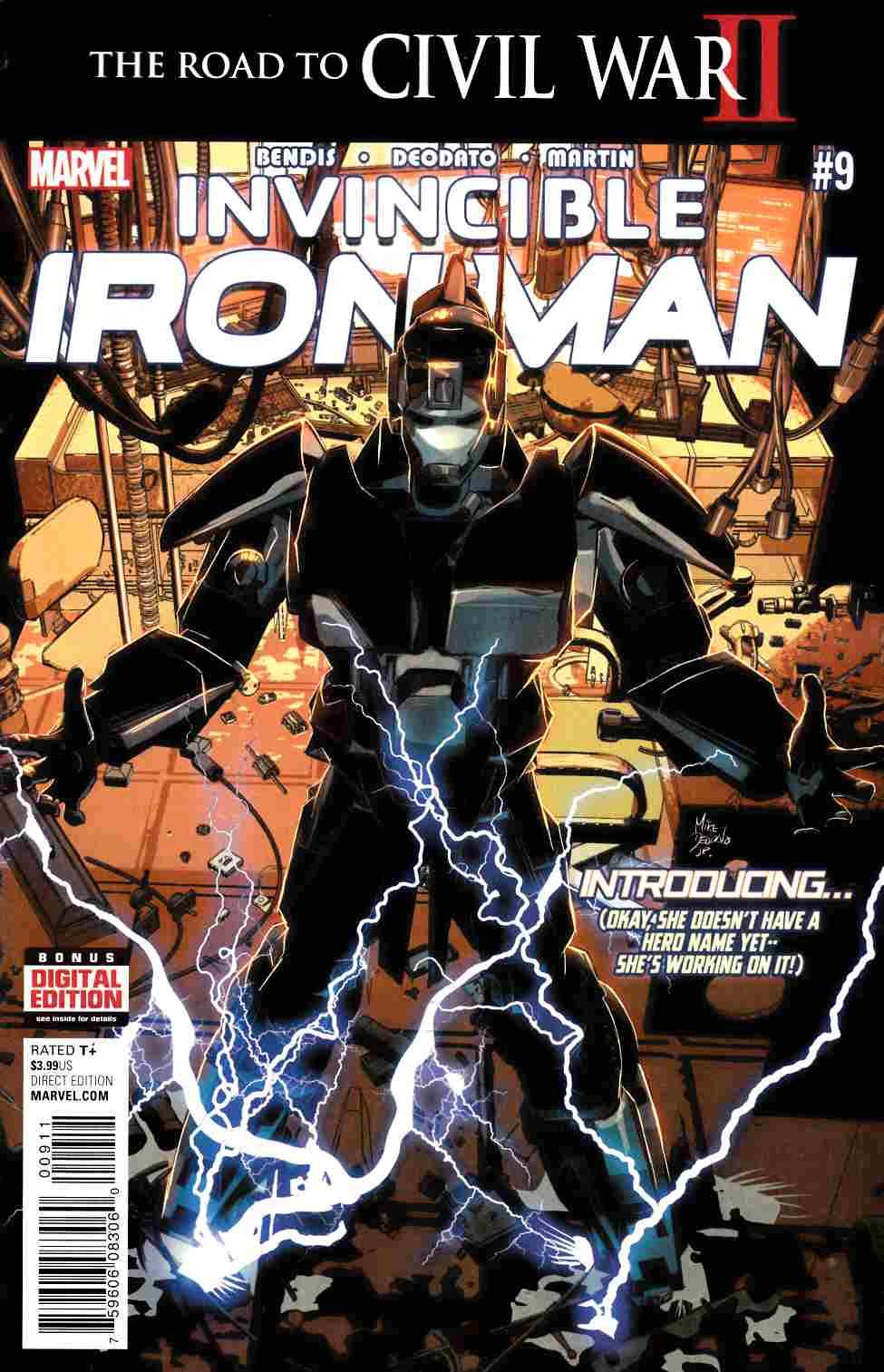Invincible Iron Man #9 [Marvel Comic] LARGE