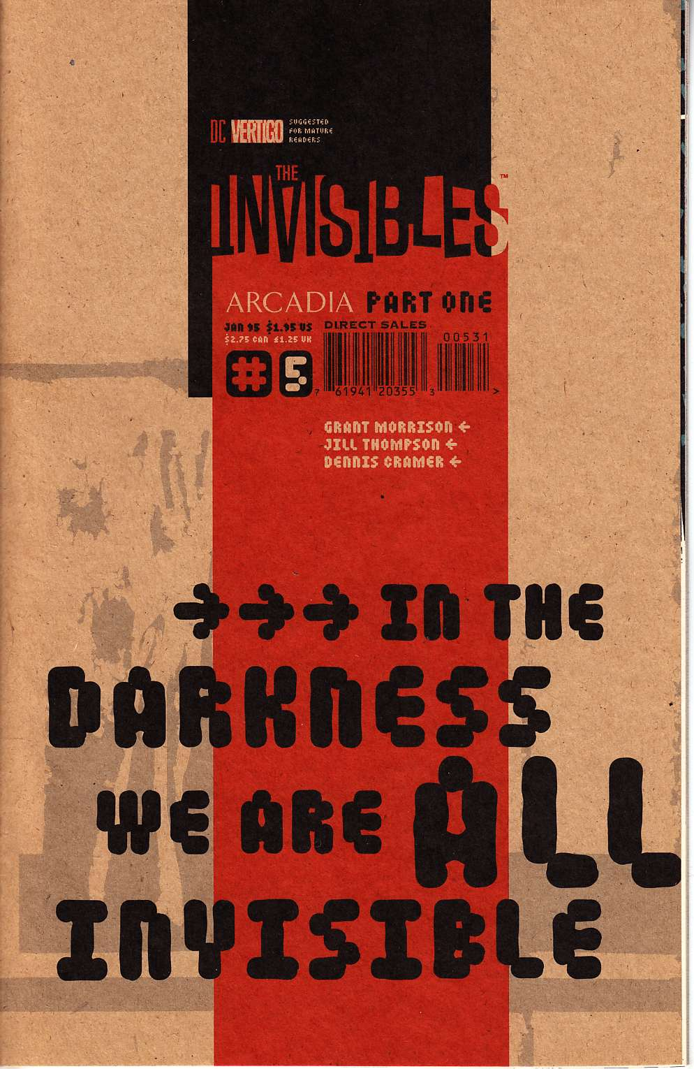 Invisibles #5 Cover C [DC Comic] THUMBNAIL