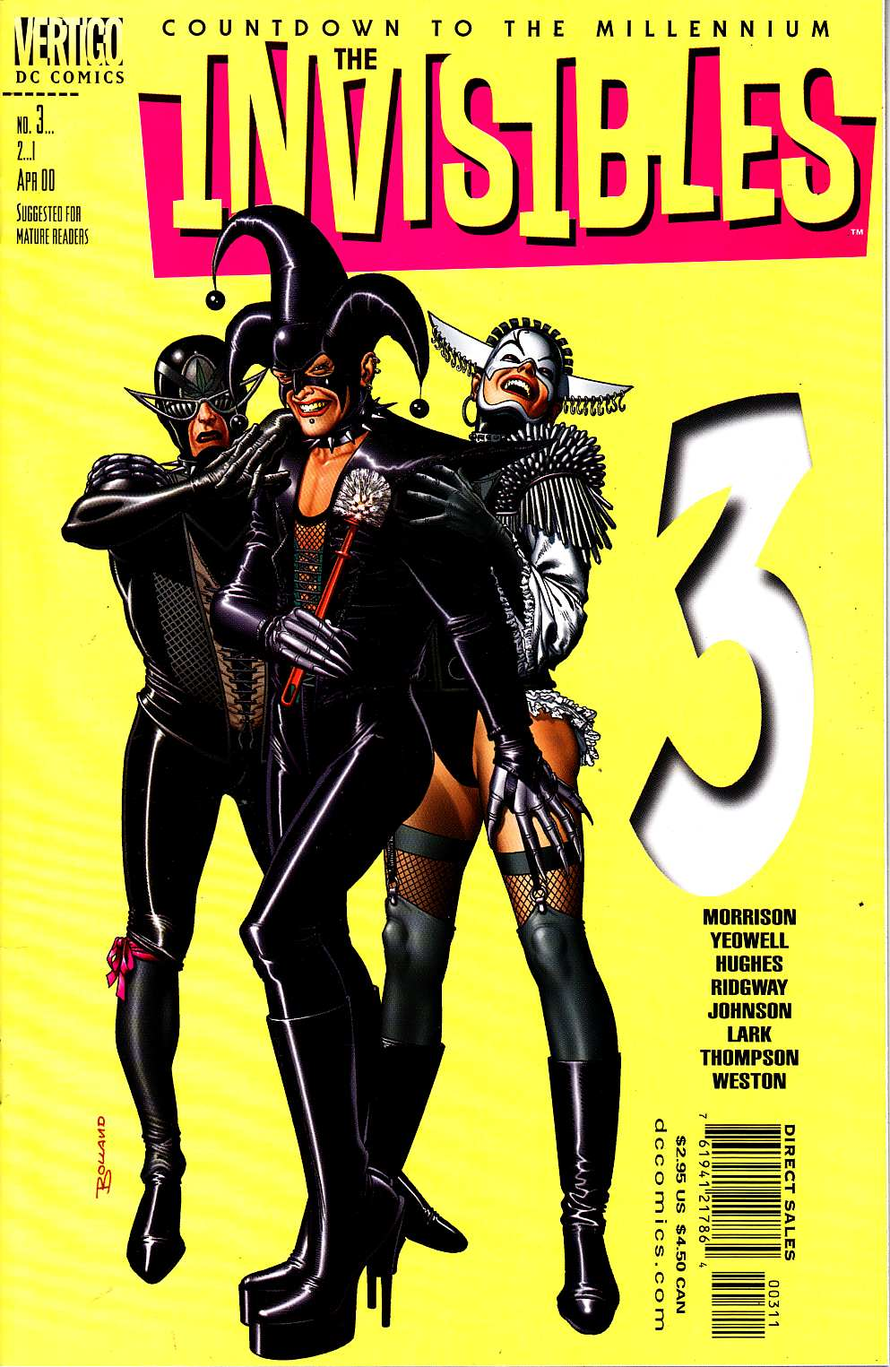 Invisibles #3 [DC Comic] LARGE