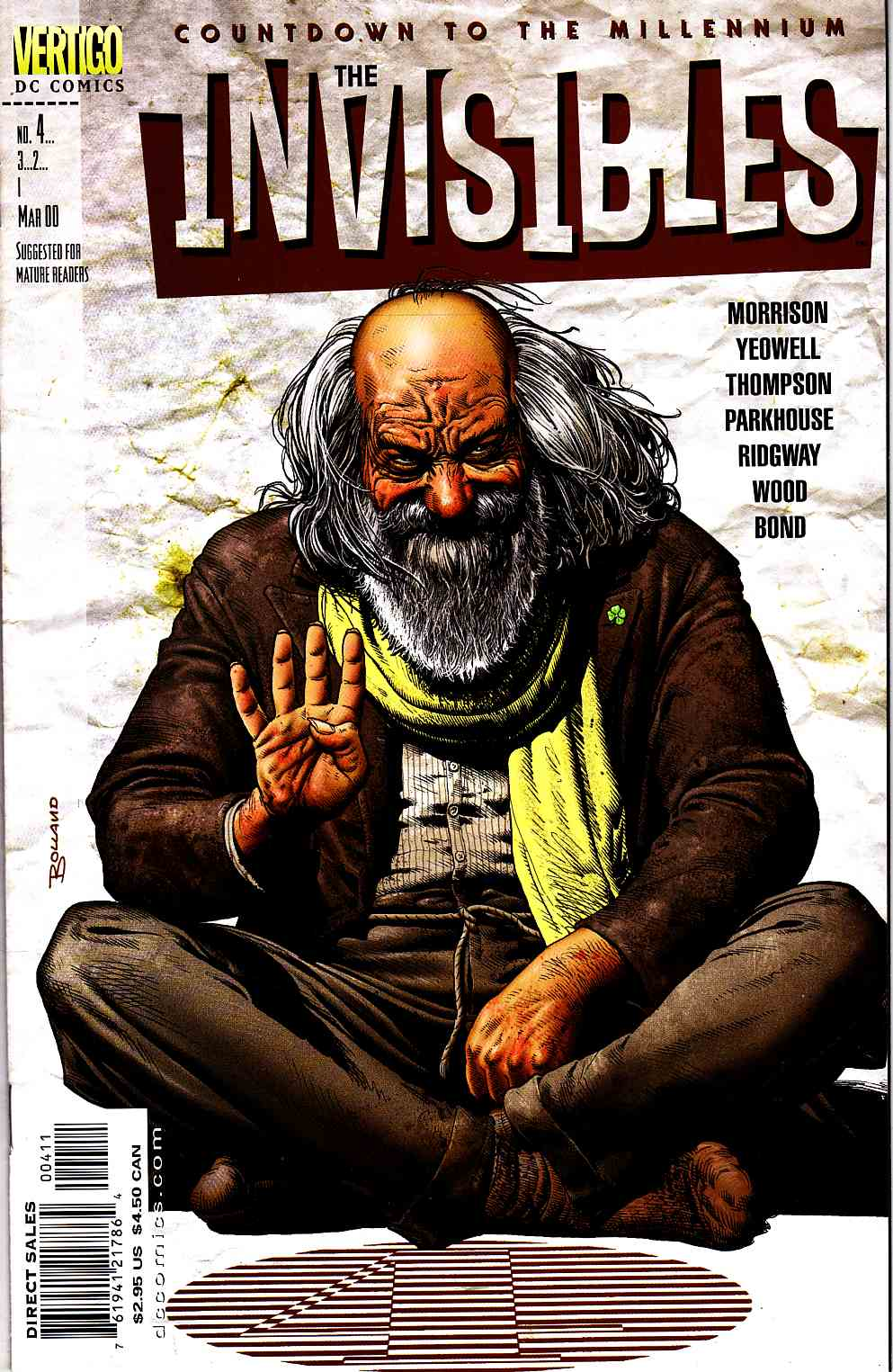 Invisibles #4 [DC Comic] LARGE