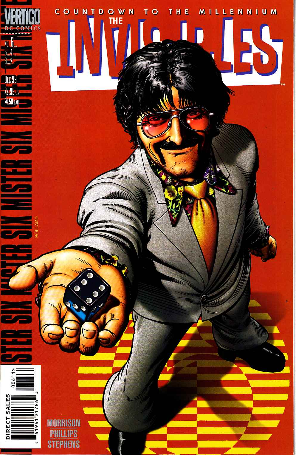 Invisibles #6 [DC Comic] LARGE