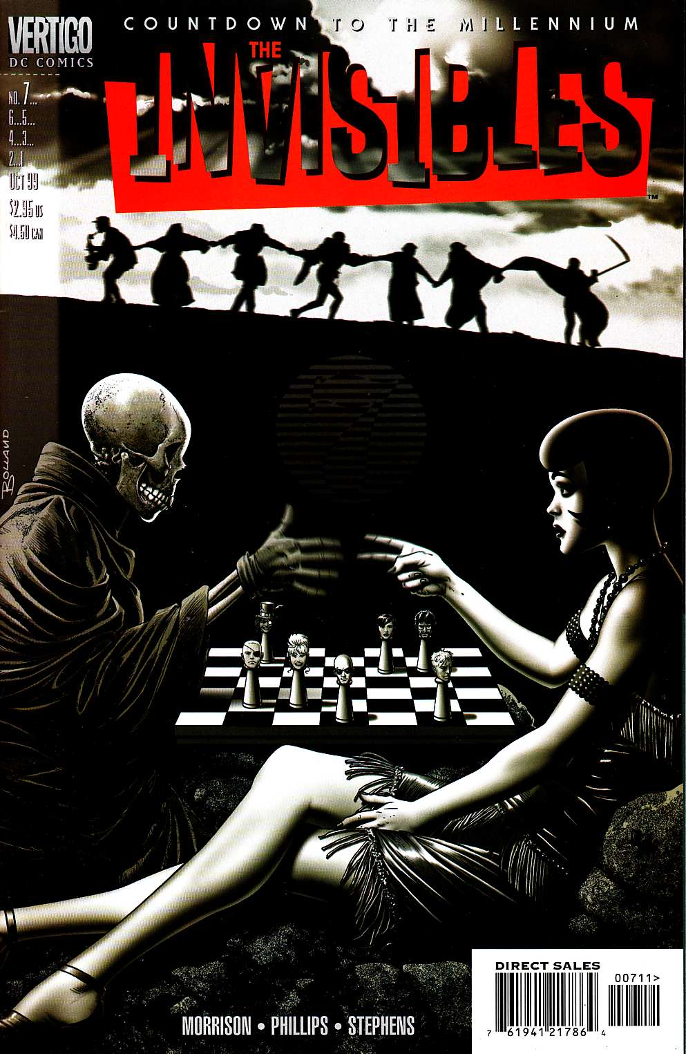 Invisibles #7 [DC Comic] LARGE