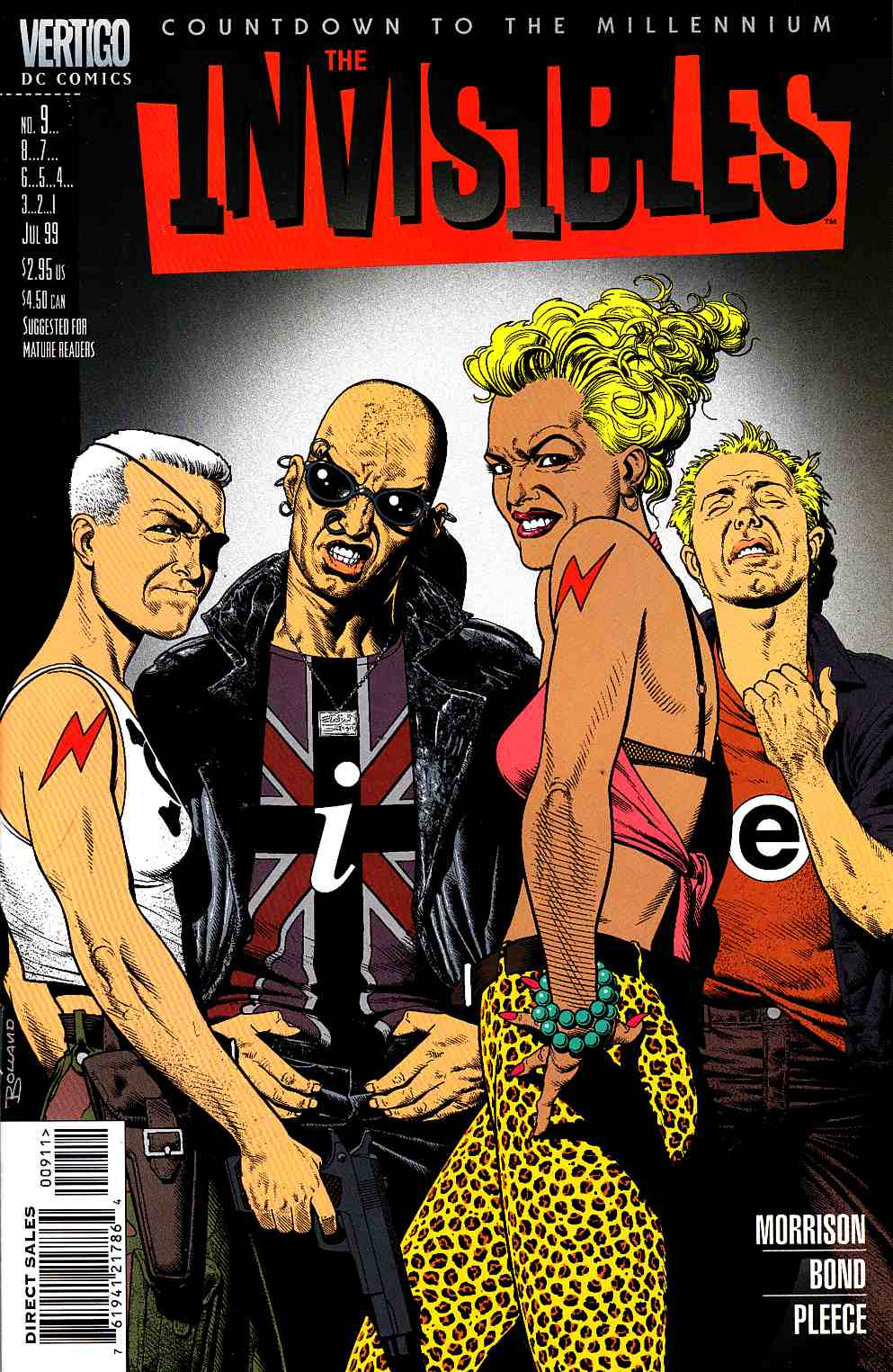 Invisibles #9 [DC Comic] LARGE