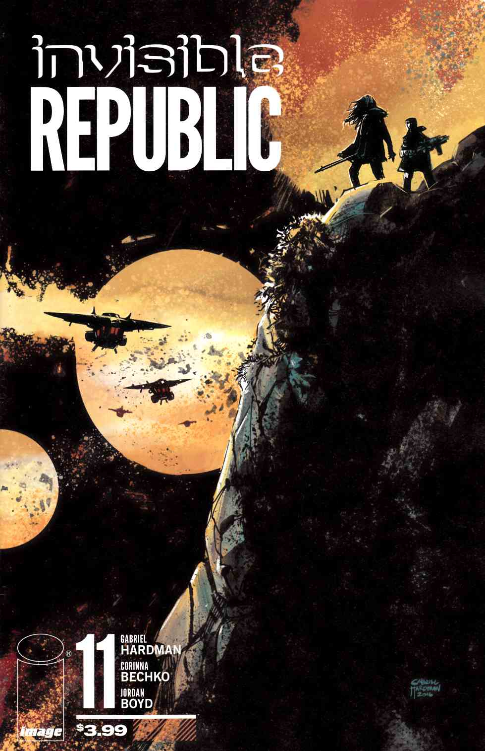 Invisible Republic #11 [Image Comic] THUMBNAIL