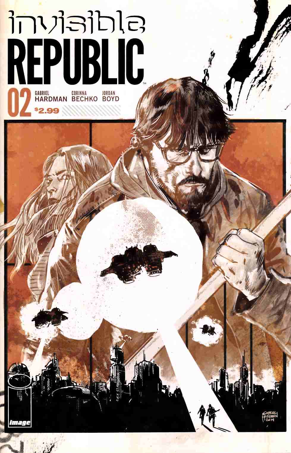 Invisible Republic #2 [Image Comic] THUMBNAIL